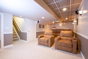 Basement-remodel-with-a-theater-room-300x200
