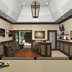 Bonus Room Makeover Remodel Option B-Design Build Planners