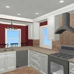Colonial Home Kitchen Remodel 1b