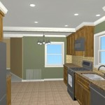 Colonial Home Kitchen Remodel Design 2c