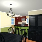 Colonial Home Kitchen Remodel Design 3c