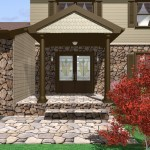 Computer aided design of planned exterior remodel (2)