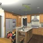 Kitchen Cabinet Design 2-Design Build Planners
