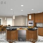 Kitchen Remodel Option Plan 4