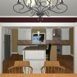 Large Family Kitchen with an Island (2)