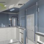 Master Bathroom Remodel Plan 1B