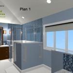 Master Bathroom Remodel Plan 1C