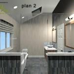 Master Bathroom Remodel Plan 2A