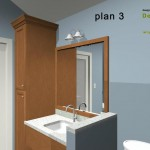 Master Bathroom Remodel Plan 3A
