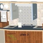 Master Bathroom Remodel Plan 3B