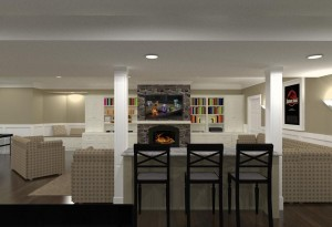 Monmouth County Basement Remodeling - Design Build Planners NJ