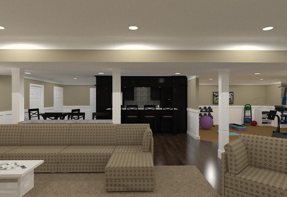 Monmouth County Basement Remodeling - Design Build Planners New Jersey