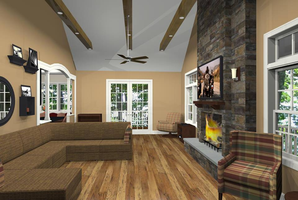 Monmouth County Family Room Addition