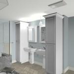 Plan 1 Master Bathroom