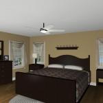 Plan 1 Master Bedroom