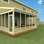 Proposed Screen-Porch and Master Bathroom Addition