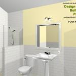 Three Fixture Bathroom Remodel Plan 3B
