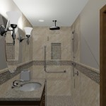 computer aided design of remodel planned for master bathroom (2)
