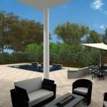 exterior patio and outdoor living computer design