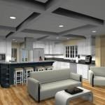 kitchen design with open floor plan to family room Eatontown, nj 07724 (2)