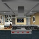 kitchen design with open floor plan to family room Eatontown, nj 07724 (6)