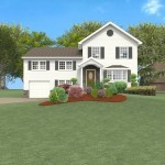 master suite add-a-level design for a split level in Livingston, New Jersey