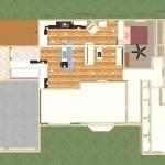 overview of new floor plan