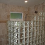 walk-in shower with glass block - Design Build Planners (1)