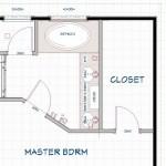 New Jersey master bathroom remodeling design option - Plan 2 (6)