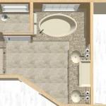New Jersey master bathroom remodeling design option - Plan 2 (7)