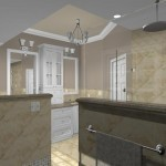 New Jersey master bathroom remodeling design option - Plan 3 (4)