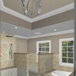New Jersey master bathroom remodeling design option - Plan 3 (5)