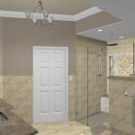New Jersey master bathroom remodeling design option - Plan 3 (6)