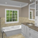 New Jersey master bathroom remodeling design option - Plan 3 (7)