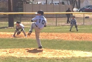 Connor Parsons pitching in Burlington, NJ 08016