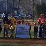 Design Build Planners sponsors youth baseball team in Burlington, NJ 08016 2