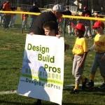 Design Build Planners sponsors youth baseball team in Burlington, NJ 08016 3
