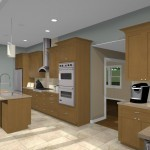 Kitchen remodeling design option - WOW Package 07059 (2)