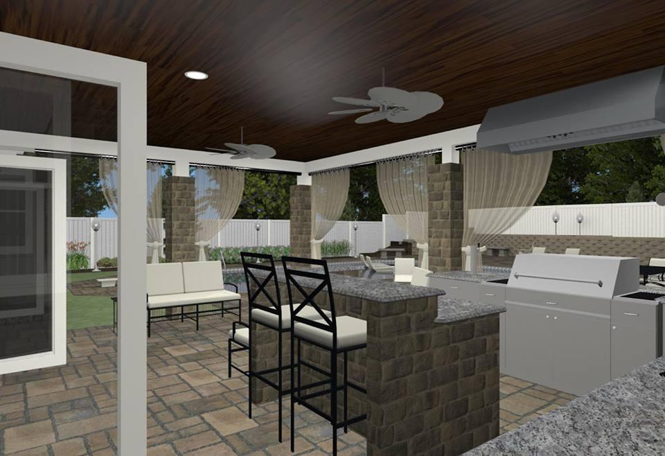NJ Kitchen Contractor - Outdoor Kitchen Design