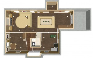 Basement Remodel Overview