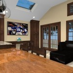 Kitchen island design with wood countertop - Design Build Planners (2)