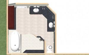 design build pros master bath makeover dollhouse