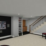 Computer Aided Design for a Basement Remodel (7)