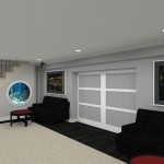 Computer Aided Design for a Basement Remodel (8)