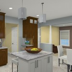 Computer Aided Design for a Kitchen Remodel in NJ (1)