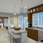 Computer Aided Design for a Kitchen Remodel in NJ (2)