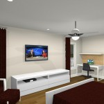 Computer Aided Design of Bedroom Remodel (4)