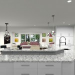 Computer Aided Design of Kitchen Remodel (3)