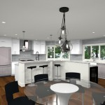 Computer Aided Design of Kitchen Remodel (4)