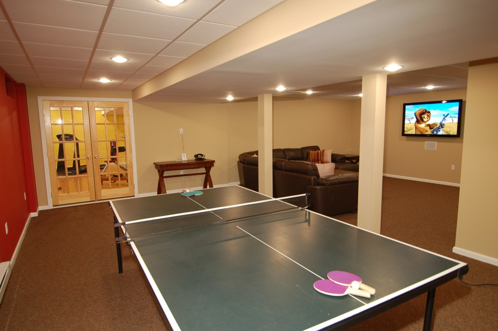 Game Room for Your Family - Design Build Planners